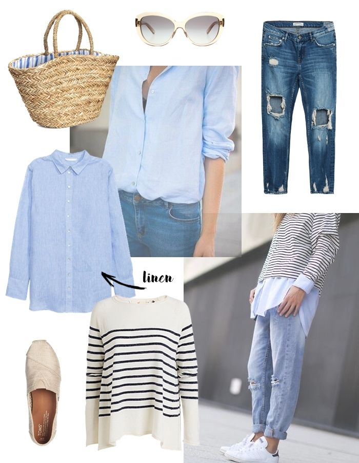 Livin up a notch: Linen shirt inspired outfit