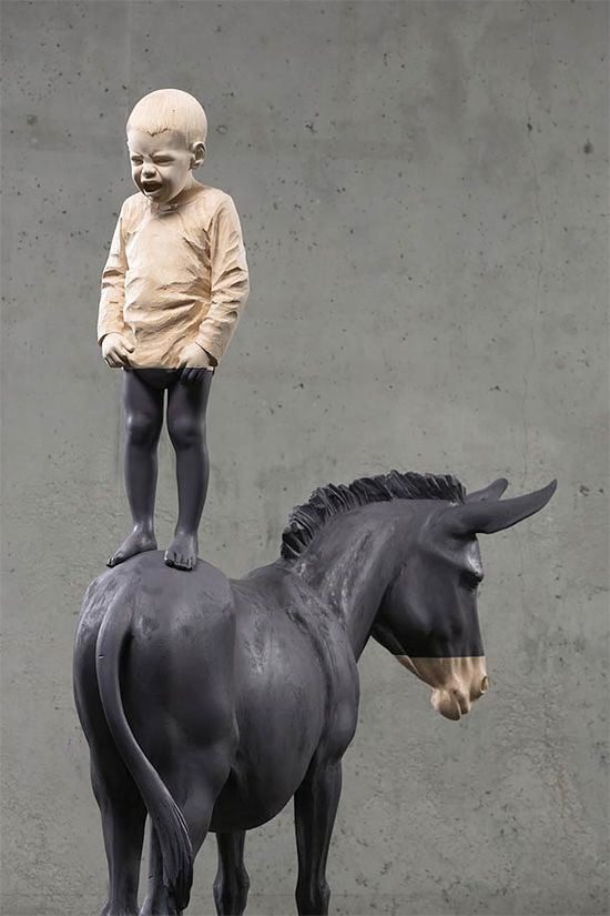 Sculpture (No-title) de Willy Verginer