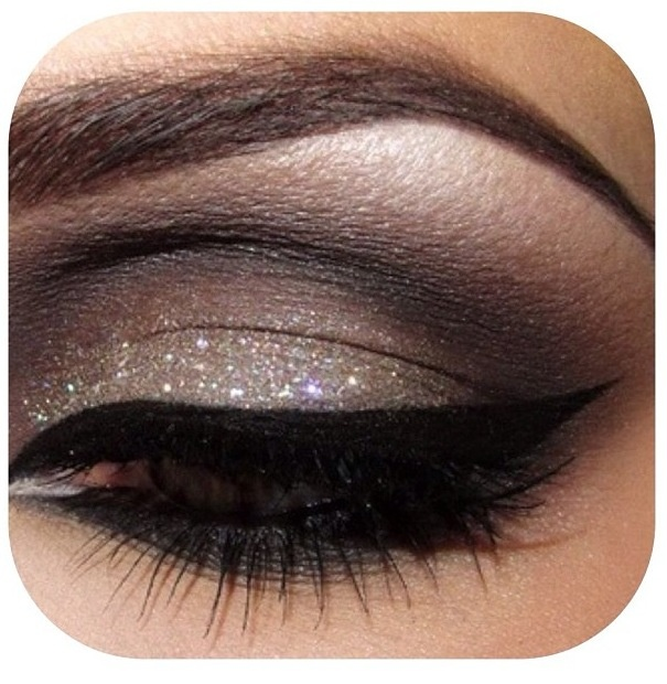 Nighttime shimmer look. :-)