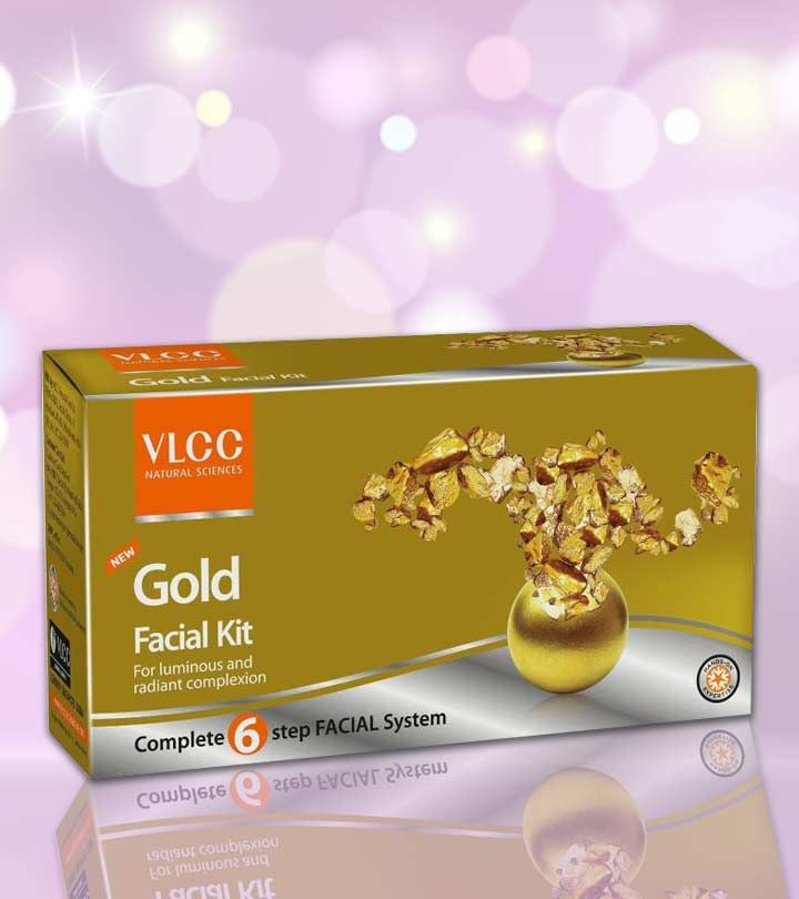 VLCC Gold Facial Kit contains a total of 4 products (Scrub, Peel Off Mask, Gel and Cream), which will give you a complete skincare set to pamper yourself.