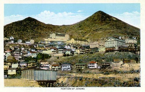Jerome Az.... I love this town. Used to go and wander the shops and art galleries....