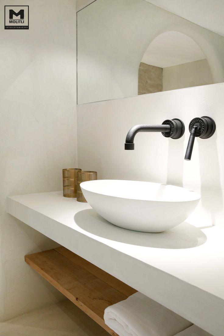 Een kleine sfeerimpressie van de nieuwe ibiza-look badkamer in onze showroom!