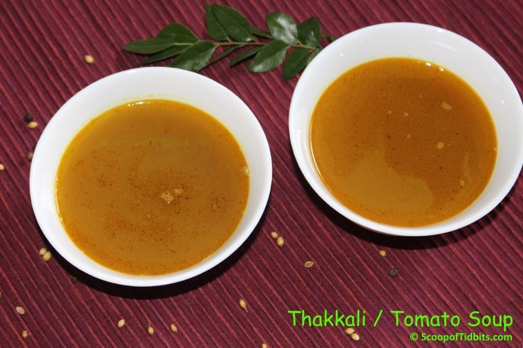 Thakkali Soup is dish that is healthy and frequently made in our household. Thakkali Soup or Tomato Clear Soup is a favorite of mine and my kids, which I l