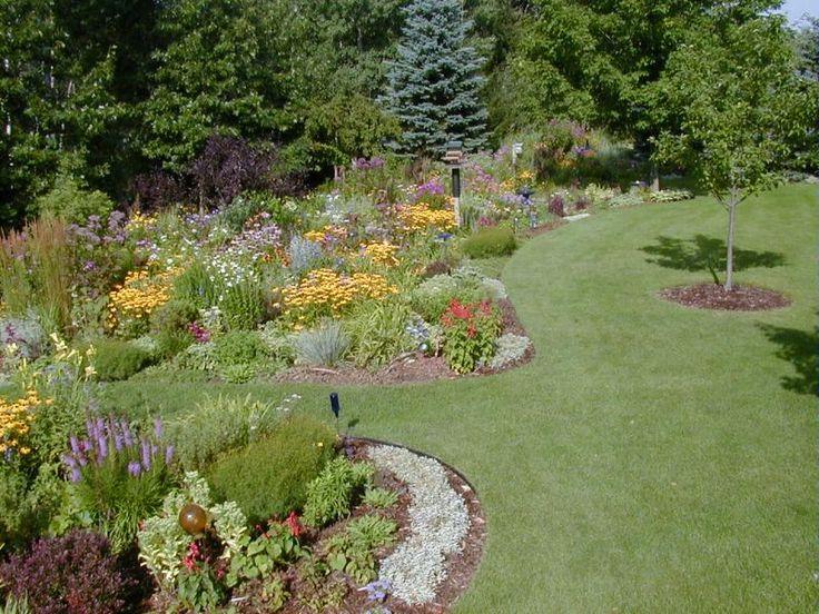 Large garden design ideas flower garden ideas for large - Large yard landscape design ...