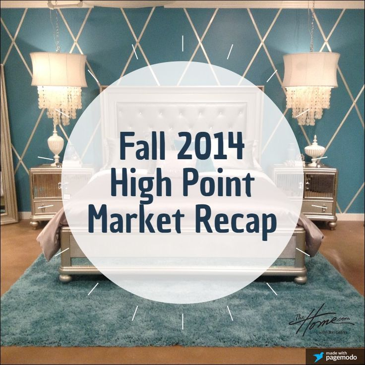 Want to see what was hot at the fall 2014 High Point Market, the destination place for home furnishings and interior design? Watch our recap videos here! http://www.thehome.com/high-point-market-highlights-fall-2014/ #hpmkt #highpoint #highpointmarket #furniture #interiordesign #designers
