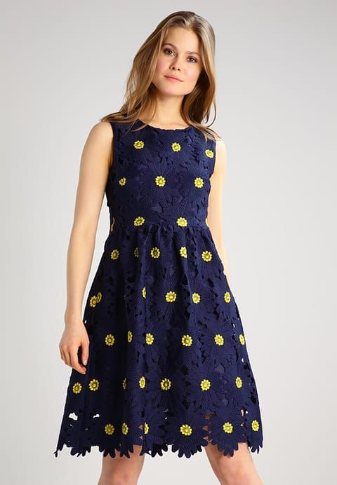 Kleding Derhy LAHORE - Korte jurk - marine Donkerblauw: € 114,95 Bij Zalando (op 3-3-17). Gratis bezorging & retournering, snelle levering en veilig betalen!