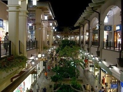 Ala Moana Center in Honolulu is the largest shopping mall in Hawaii and the largest open-air shopping center in the world.