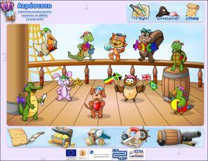 διαδικτυακή εκπαιδευτική πύλη για παιδιά 3-7 χρόνων με δραστηριότητες που περιλαμβάνονται σε 10 θεματικές  ενότητες