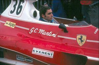 Brands_Hatch-1976 (non championship) Giancarlo Martini Ferrari312T Scuderia Everest Pierluigi Martini uncle