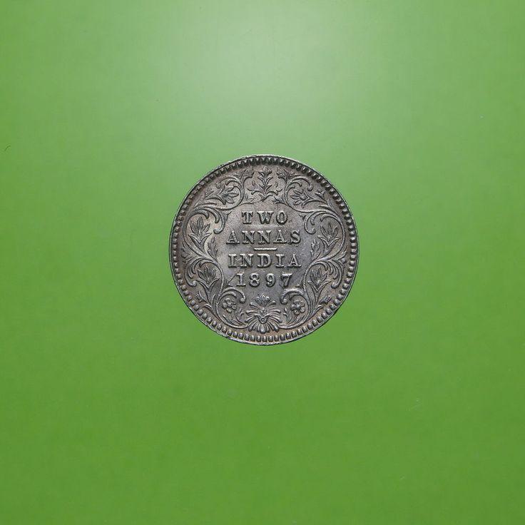 India- 2 Annas 1897 Regina Vittoria-  §104.3