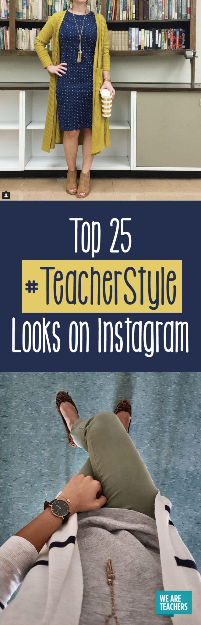 Top 25 #TeacherStyle Looks on Instagram - WeAreTeachers