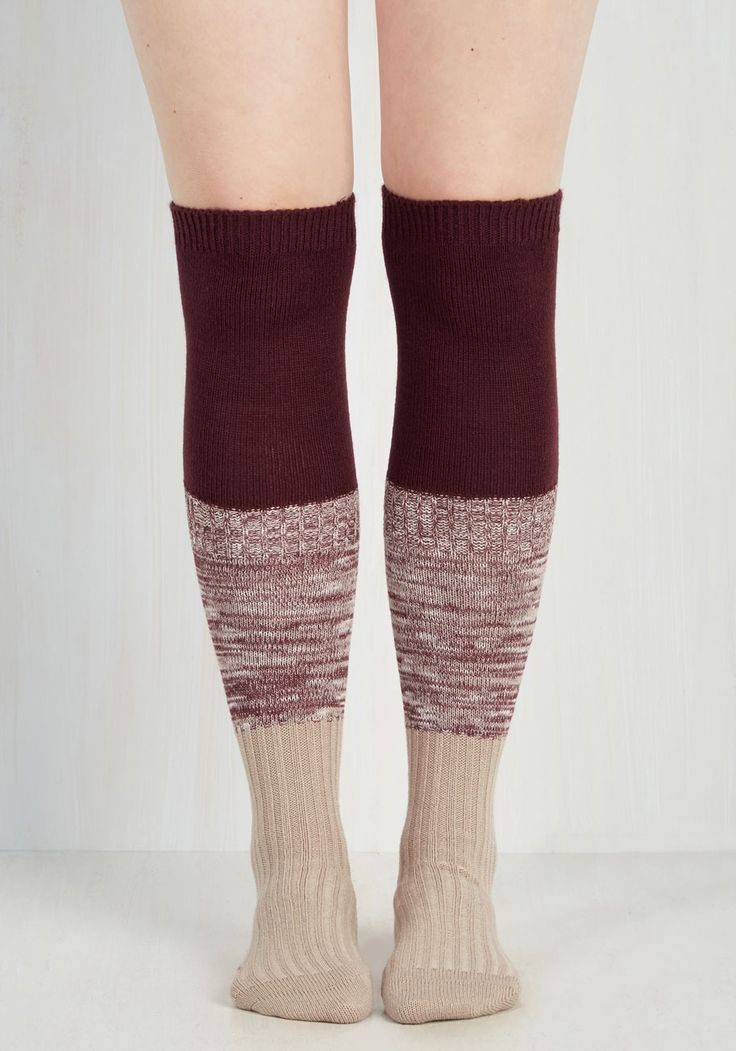 Section Leader Thigh Highs.