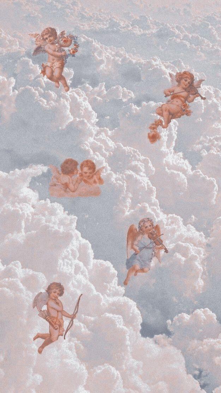 Aigyeℓѕ In 2020 Aesthetic Wallpapers Iphone Wallpaper Vintage Angel Wallpaper