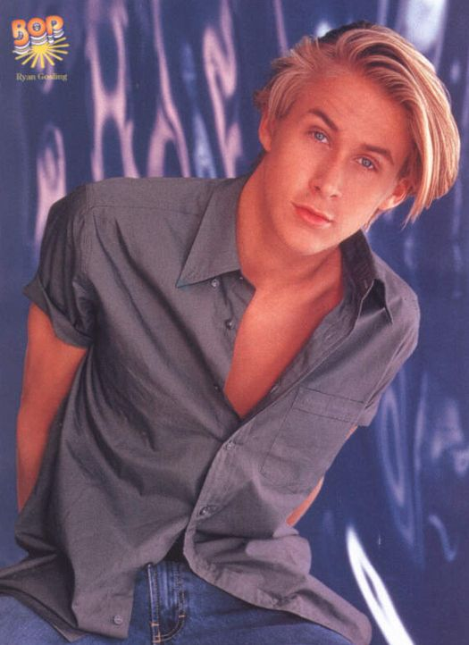 17-year-old Ryan Gosling!!!! Photographed in 1997. Gotta love the 90's