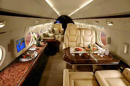 Luxury Aircraft Solutions - Heavy Jet Gulfstream IV / Gulfstream 400 / Gulfstream 450 Available for Charter  www.LuxuryAircraftSolutions.com- I'll take this over commercial flying ANY day, no? lol