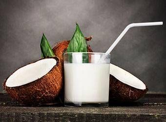 Leche de Coco, la más Energética