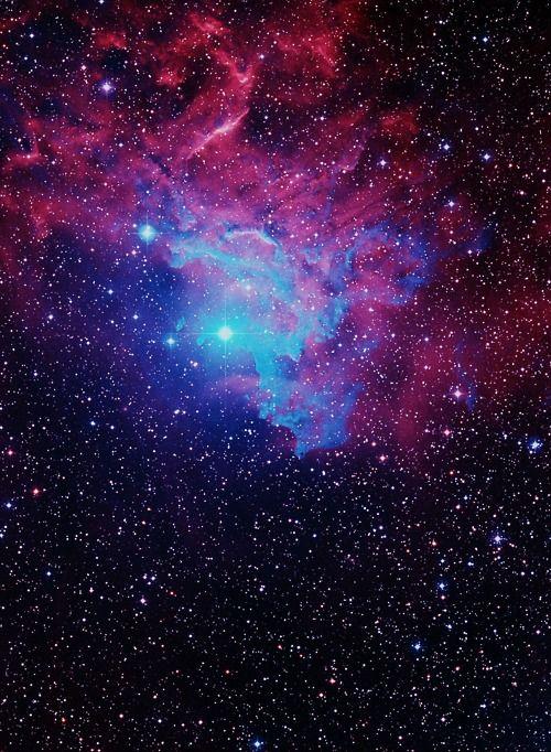 Flaming star nebula | Cosmic Love | Pinterest | Beautiful ...