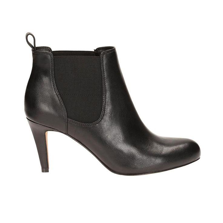Carlita Quinn by Clarks Black leather  € 100