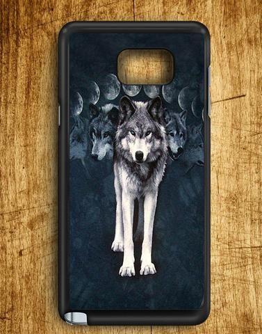 Wolf Samsung Galaxy Note 5 Case