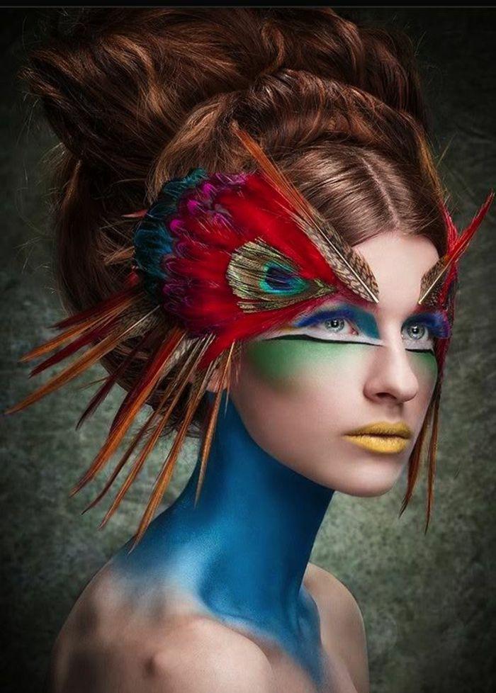 Souvent Les 25 meilleures idées de la catégorie Maquillage artistique sur  TJ31