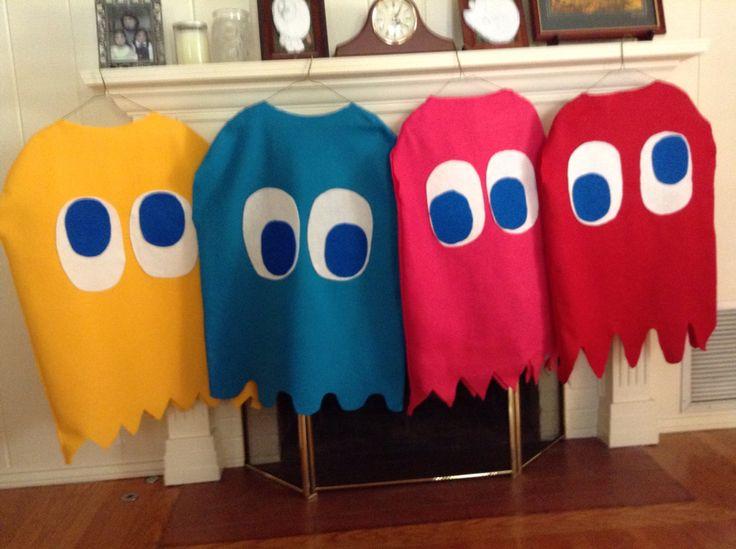 DIY Pac-Man Costumes                                                       …