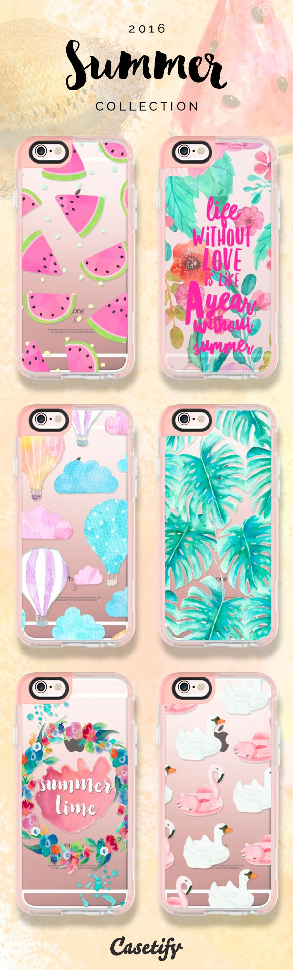 Let's have some fun in the sun! Click through to check out our latest 2016 #summer collection >>> https://www.casetify.com/collections/summer | @casetify http://amzn.to/2qZ3RzU