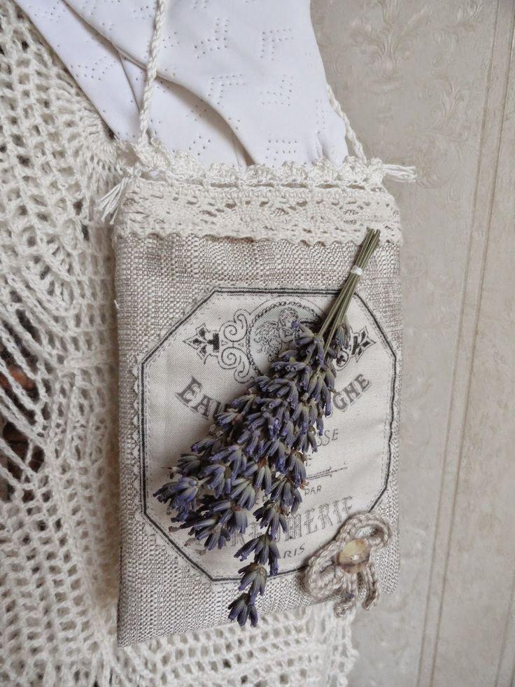 Als ik thuis ben: Lavendel tasjes