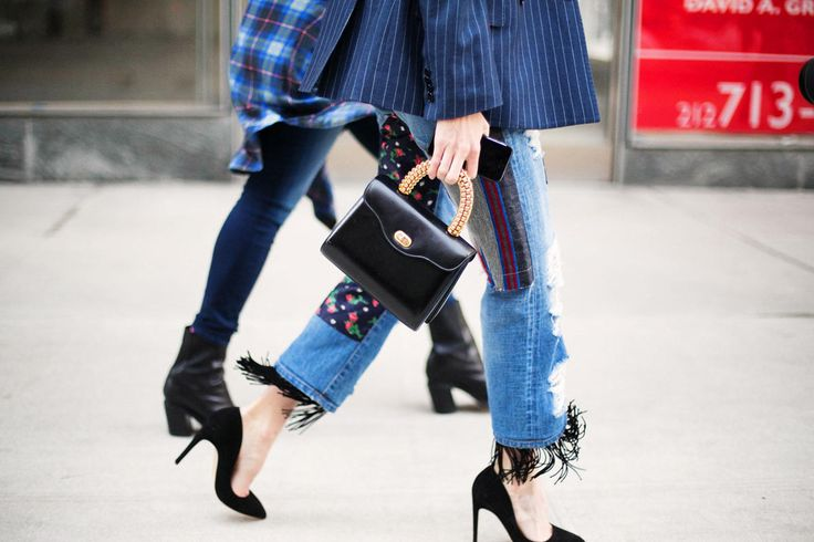 "gracespain: ""Focus on details: dancing fringes at Taylor Tomasi Hill jeans """
