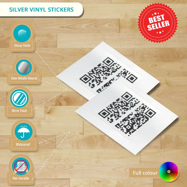 Regardless what designs do you have, with our Silver Vinyl Stickers, it helps you still stand out! Check more details here from this infographic!