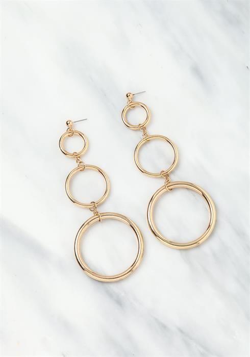 Circle Chandelier Earrings  $5.95