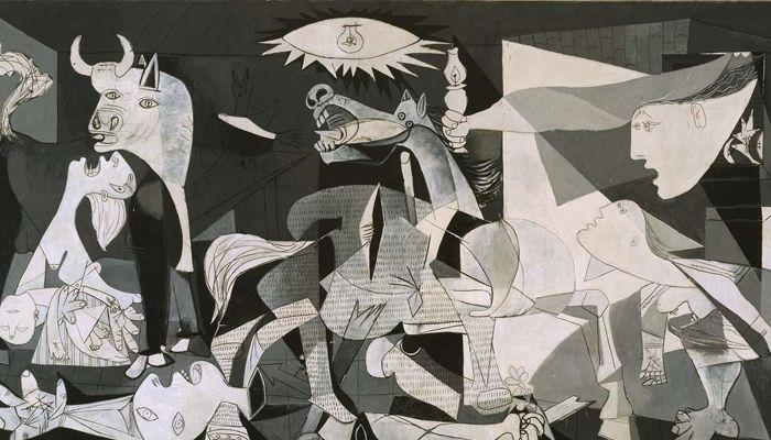 Obra de arte Guernica de Pablo Picasso