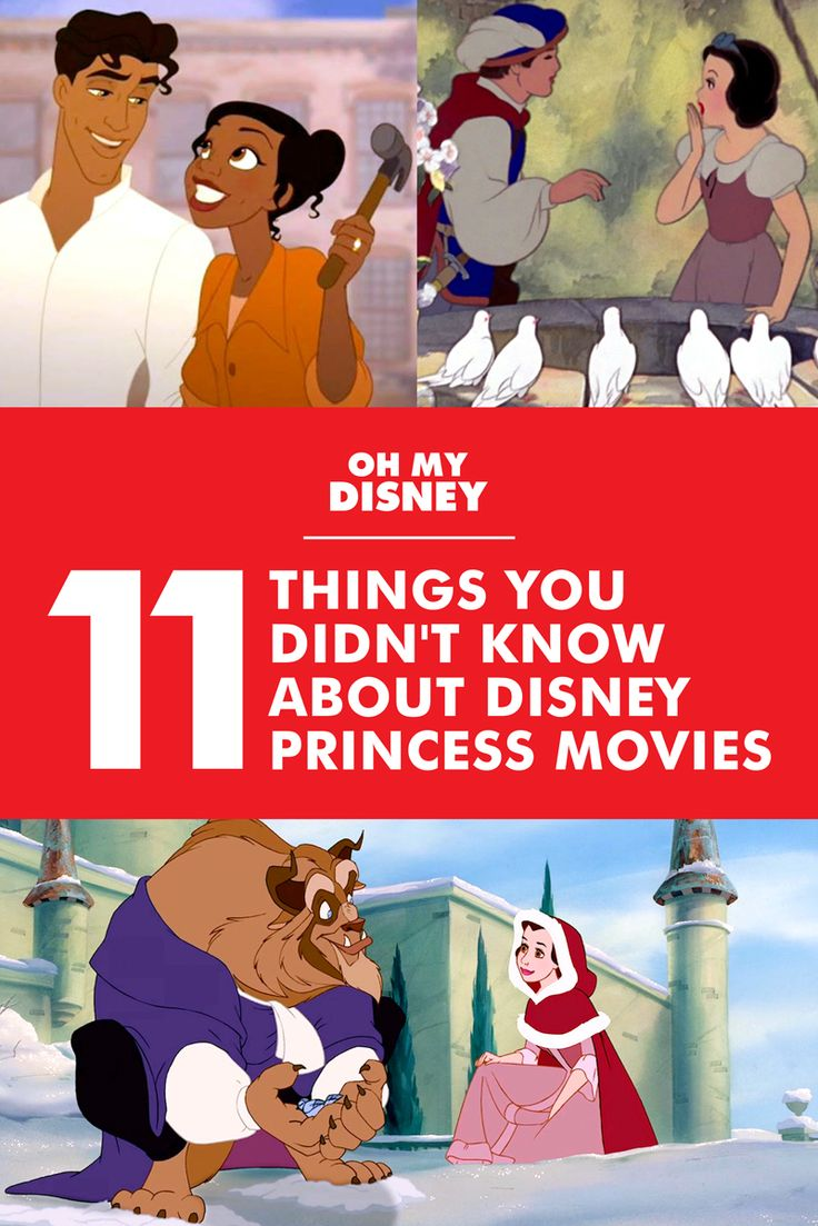 11 Things You Didn't Know About Disney Princess Movies