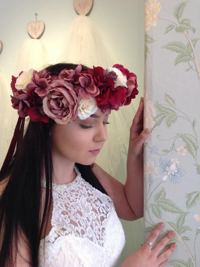 Flower Crown/Wreath by LillyDillys on Etsy