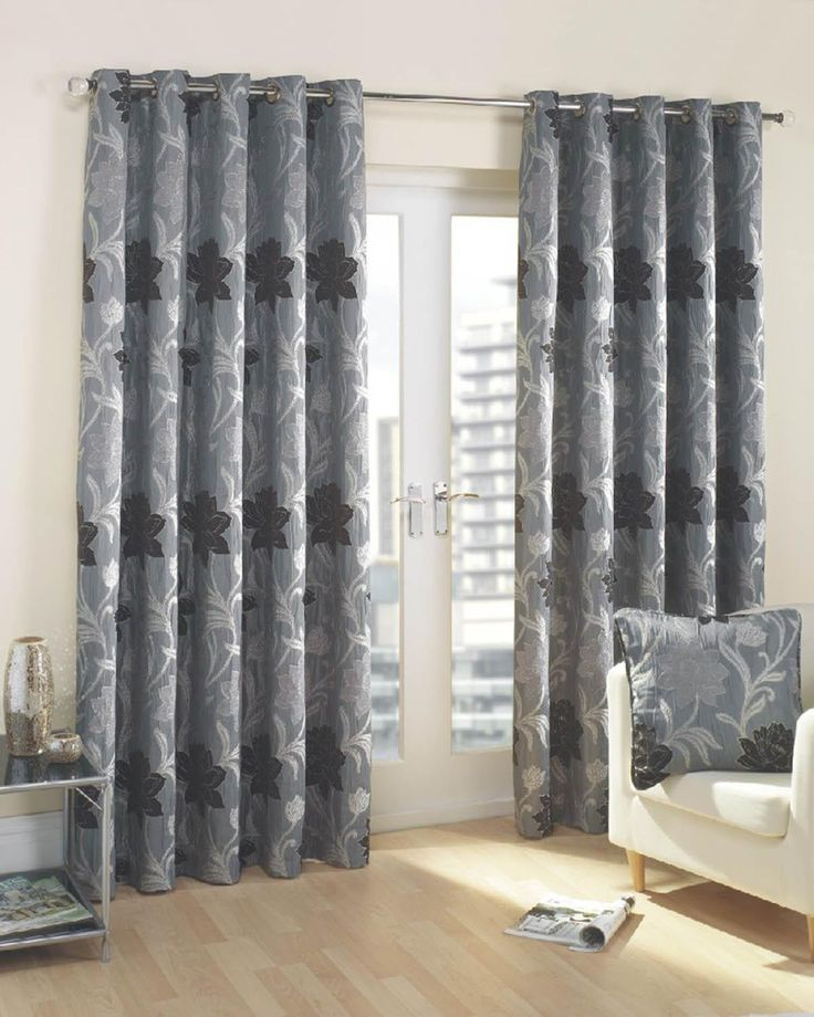 Good Quality Curtains Uk Part - 27: Take A Look At Our Verdi Ready Made Lined Eyelet Curtains Charcoal, Great  Quality And Affordable Prices At Terrys Fabrics