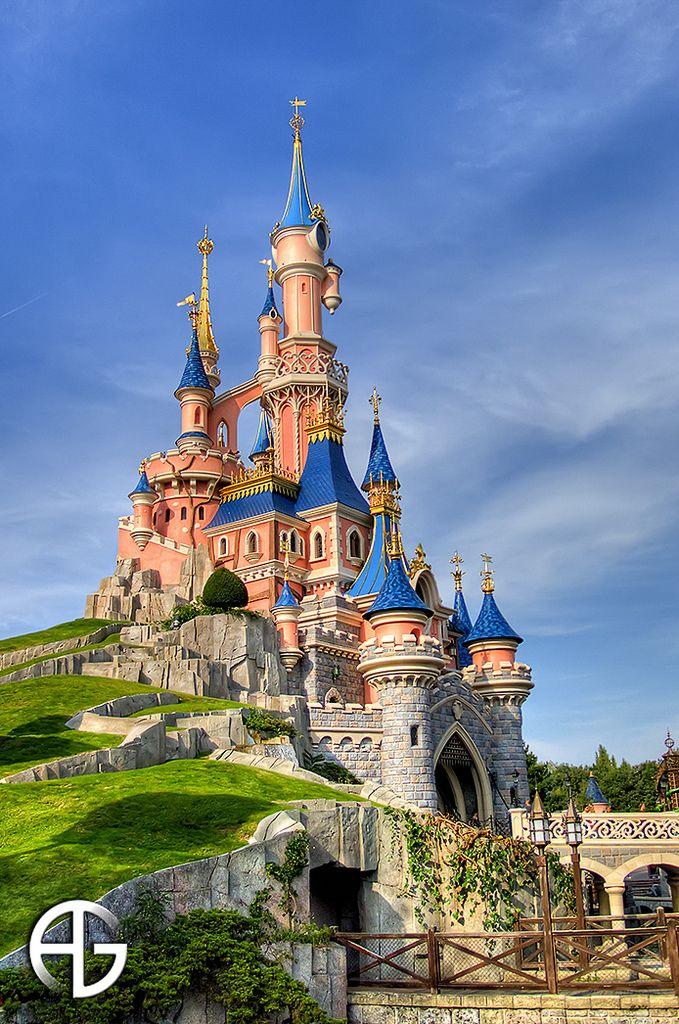 Disneyland Paris, France Beauty & The Beast Castle...My Fave!