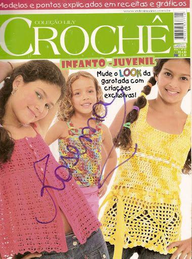 Coleçao Lily - Croche InfantoJuvenil - 譕淚らづ寳唄-03 - Álbuns da web do Picasa
