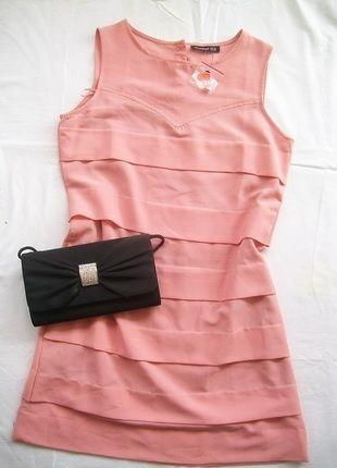 Kup mój przedmiot na #Vinted http://www.vinted.pl/damska-odziez/krotkie-sukienki/8942422-nowa-pudrowa-sukienka-atmosphere-metka