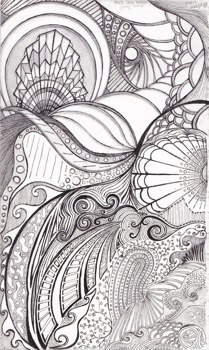 Zen ocean colouring book - Find This Pin And More On Coloring