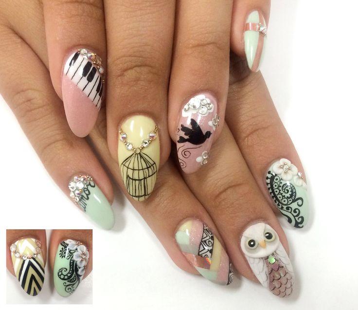 NAILS Next Top Nail Artist   Contestants   Lauren Wireman - http://ntna.nailsmag.com