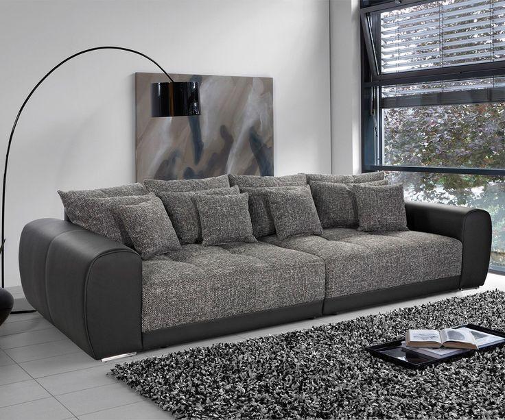 Die besten 25+ Big sofa grau Ideen auf Pinterest Sofas, Beige