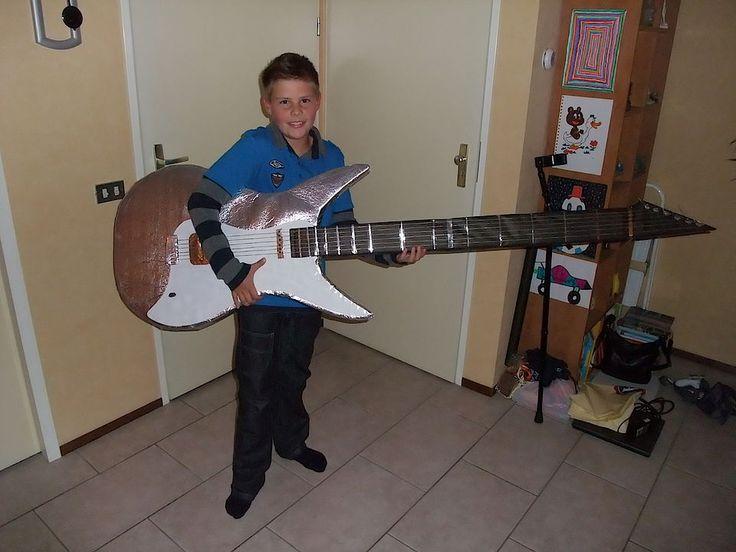 Een gitaar voor de muzikant uit je klas