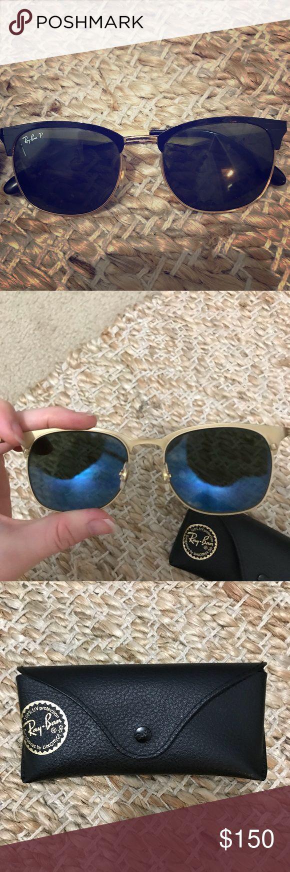 Ray ban club master aluminum Black and gold club master aluminum Ray-Ban Accessories Sunglasses