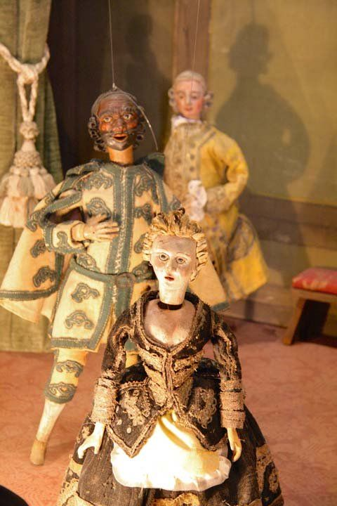 Ca' Centani: puppets in Casa Goldoni in Venice