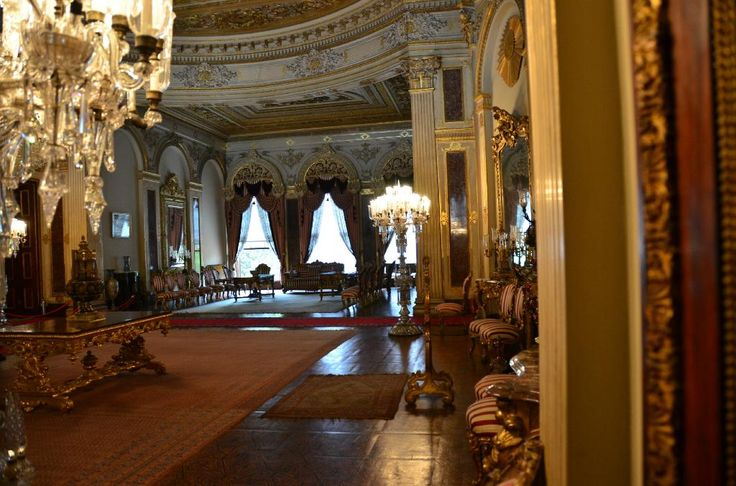 Dolmabahce Palace, Istanbul-- State Room