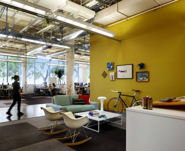 Cool Office Space I Want To Work Here Pinterest