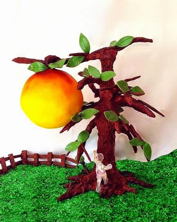 James and the giant peach  - Grainne MacClancy