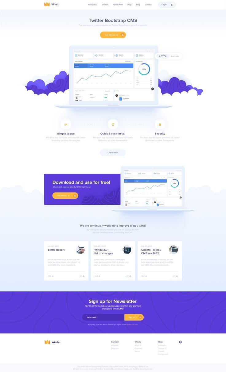 Twitter Bootstrap Cms Webpage Design Template Twitter Bootstrap Cms Webpage Design Template Webdesign Web Layout Design Webpage Design Web Design Quotes