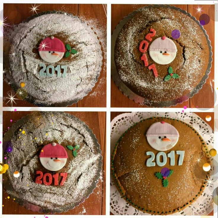New year's cakes!