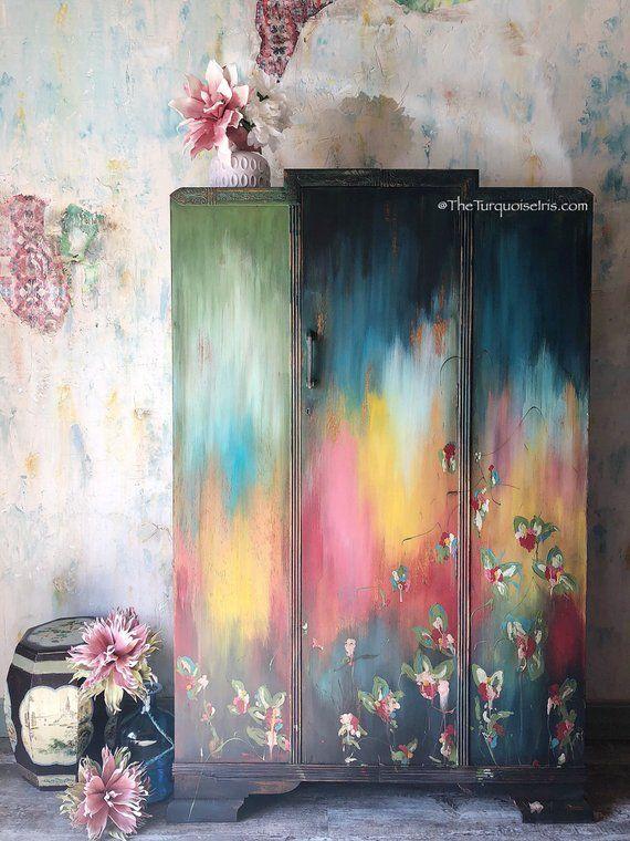 Custom Sold Meubels PaintedOriental Gypsy Bohèmian N Houten BQrdWoeECx
