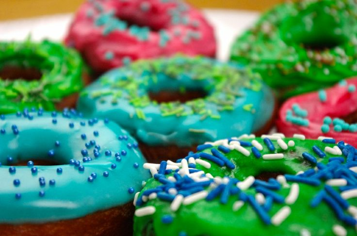 Doughnuts! Lovely coloful Dougnuts!